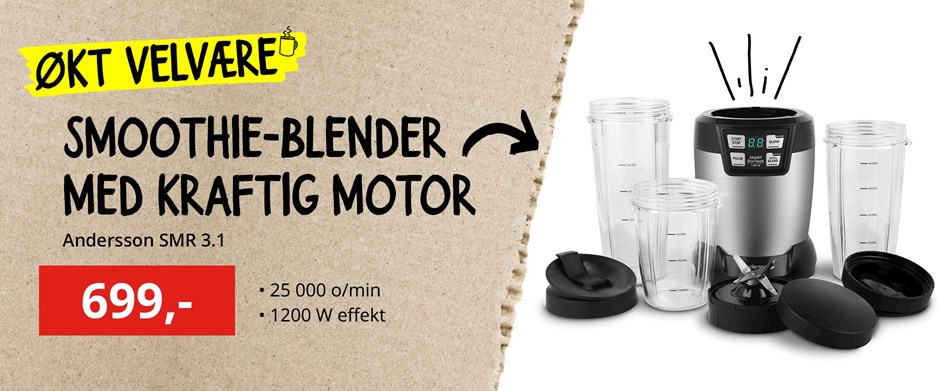Andersson SMR 3.1 Smoothie Maker