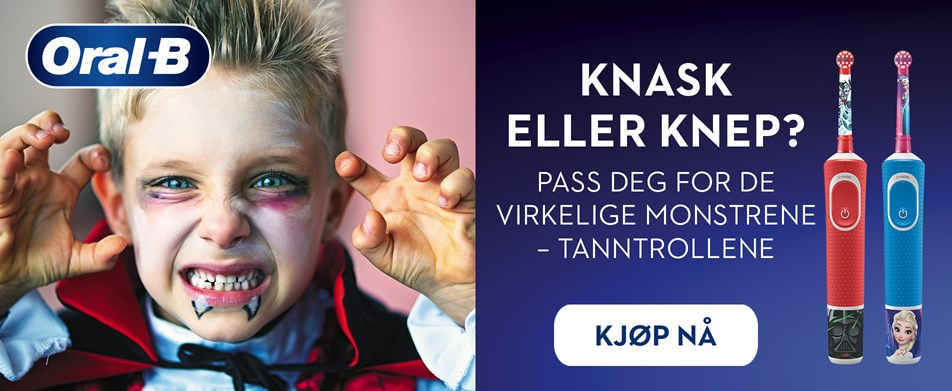 Knask eller knep? Pass deg for tanntrollene