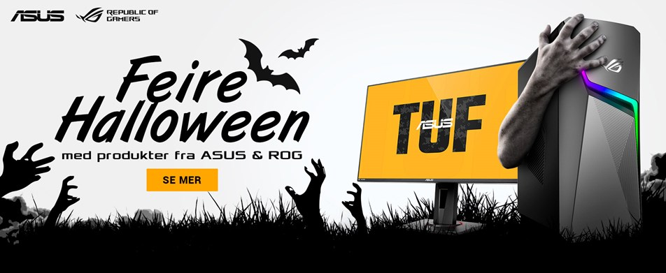 Feire Halloween med ASUS Republic of Gamers