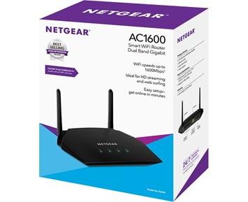 Netgear R6260 dual band WiFi router Nettverk og routere