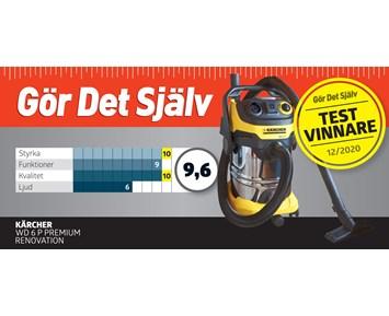 Kärcher Støvsuger WD 6 P Premium Renovation | Billig