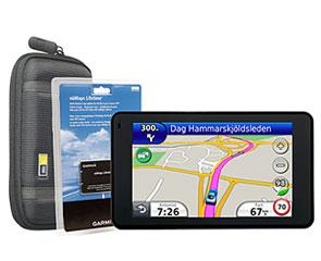 garmin oppdatering av kart Garmin Nüvi 3760+Lifetime Maps+Bag   Smart GPS med kart  garmin oppdatering av kart