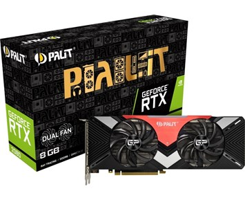 Palit Geforce RTX2080 Dual 8G