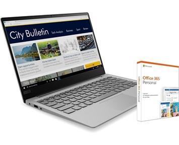 Lenovo Ideapad 320S-13IKB + Microsoft Office 365 Personal - Tynn og