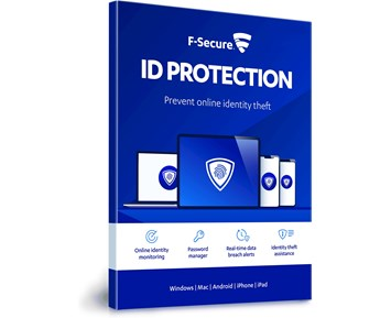 F-Secure ID Protection Attach (1 year, 5 devices)