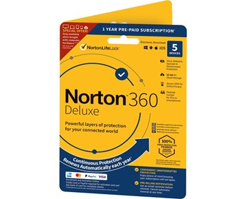 Symantec Norton 360 Security Deluxe Attach