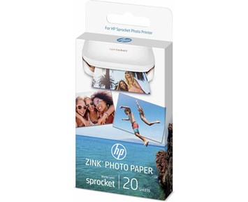 HP HP ZINK 20pck Sticky-Backed Photo Paper 50x76mm