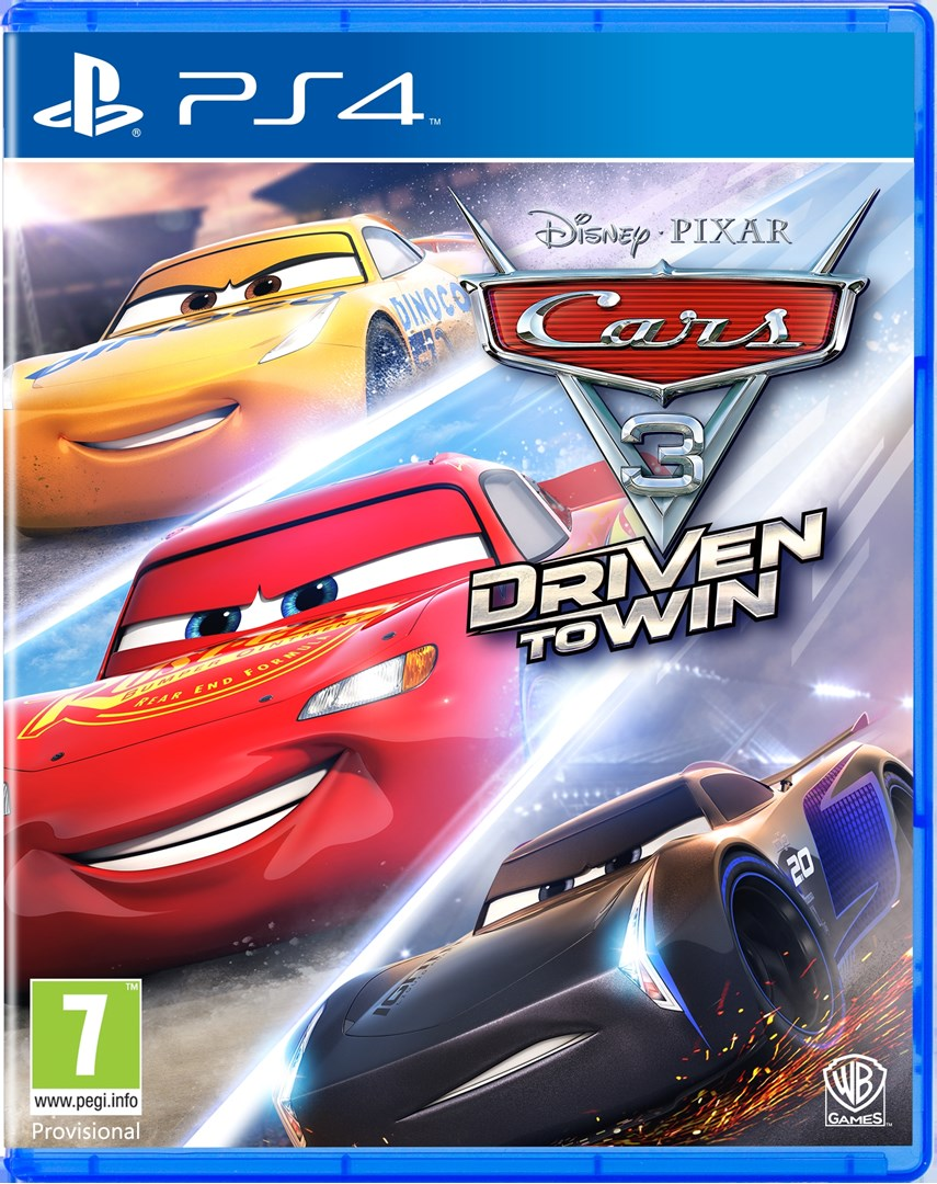 ps4 cars 3 driven to win cars 3 driven to win til ps4. Black Bedroom Furniture Sets. Home Design Ideas