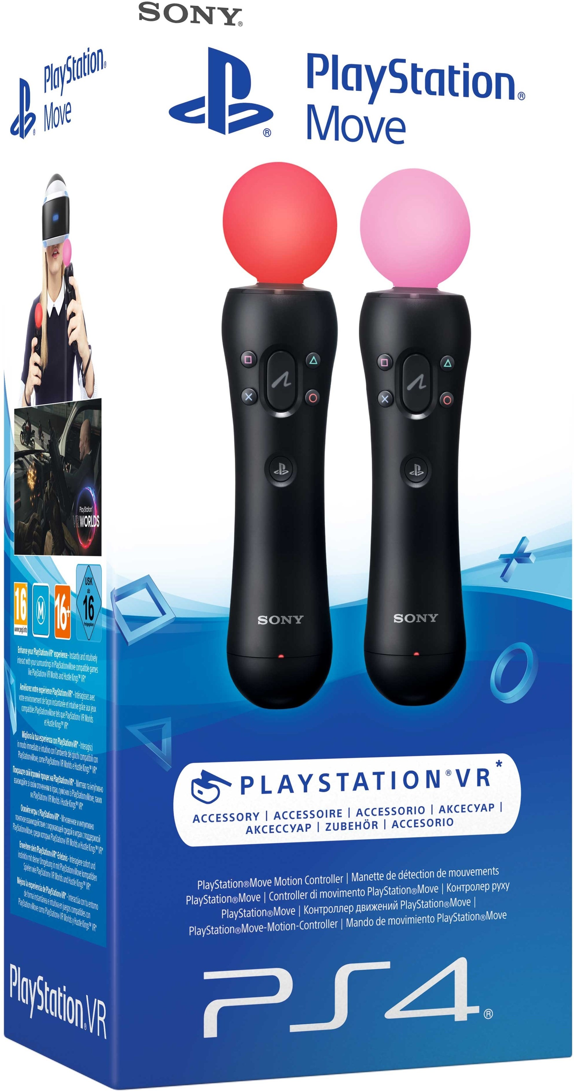 Sony PS Move Controller Twin Packs - To kontroller til PlayStation ...