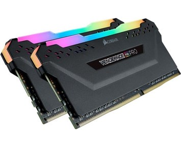 Corsair Vengeance Black RGB LED Pro DDR4 3200MHz 2x16GB