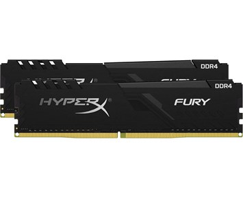 HyperX Fury Black DDR4 3600MHz 2x8GB