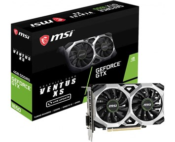 MSI GeForce GTX 1650 Ventus XS 4G