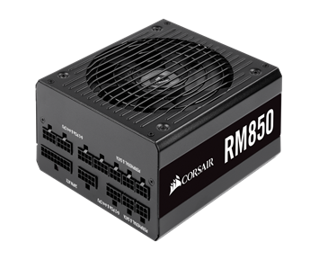 Corsair RM Series™ RM850 80 PLUS Gold Fully Modular