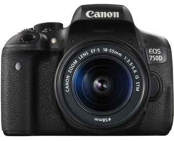Canon EOS 750D 18-55IS STM