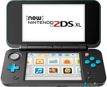 3DS New 2DS XL Black + Turquoise