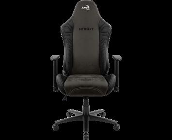 Bilde av Aerocool Aerosuede Gaming Chair - Knight Iron Black