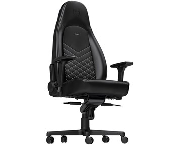 Noblechairs ICON Faux Leather black/platinwhite