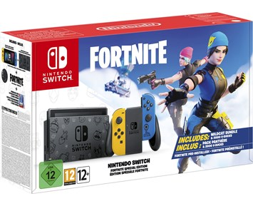 Nintendo Switch - Fortnite pre installed