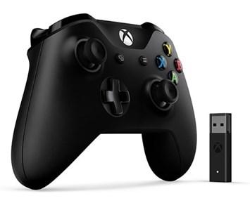 Microsoft Xbox One Wireless Controller + Wireless Adap.Win