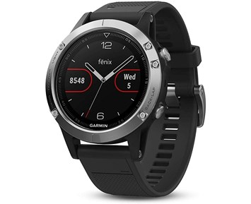 Garmin Fenix 5 Glass Black/Silver