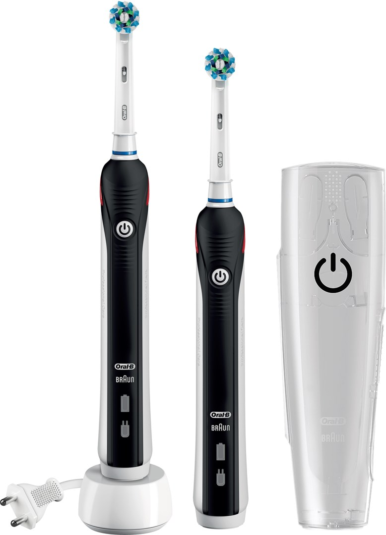 oral b pro 1900 duo pro 1900 elektrisk tannb rste i dobbeltpakke. Black Bedroom Furniture Sets. Home Design Ideas