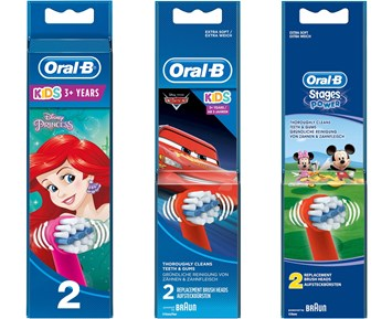 Oral-B Junior 6+ Green - Elektrisk tannbørste for barn fra 6 år 47bff2961baa9