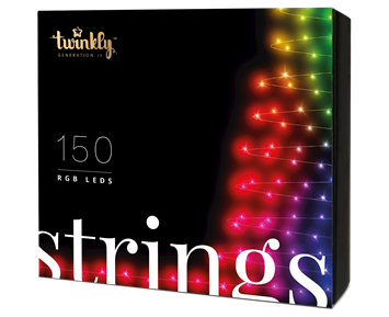 Twinkly Strings 150 Multicolor RGB LED Gen 2