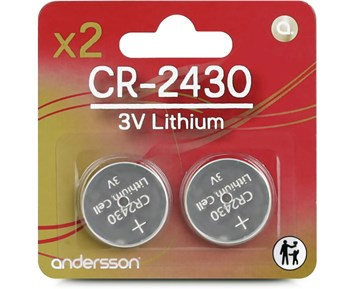 Andersson CR2430 2pcs