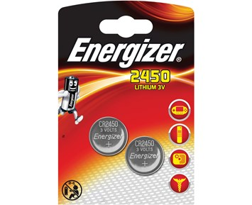 Energizer CR2450 2-pack
