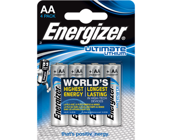 Energizer Lithium AA 4-pack