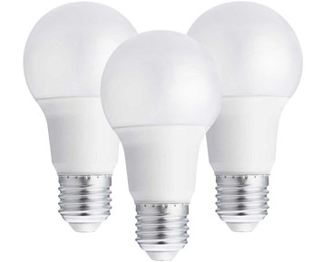 Andersson LED bulb E27 A60 10W 2700K 800LM dimable 3-pack