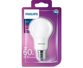 Philips LED 8W (60W) E27 A60