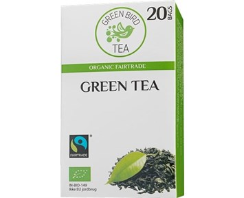 Green Bird Tea Green Tea 20pcs