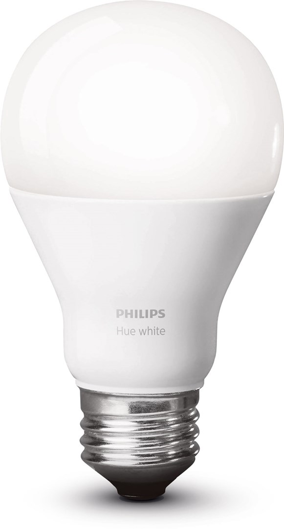 philips hue white 9 5w a60 e27 smart hvit led p re til. Black Bedroom Furniture Sets. Home Design Ideas