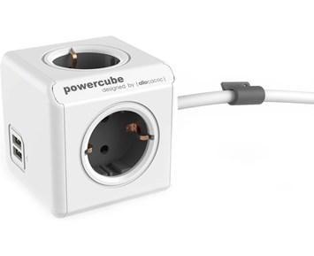 Bilde av Allocacoc Powercube Extended 1,5 M Usb
