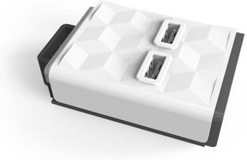 Bilde av Allocacoc Powercube Module 2xusb