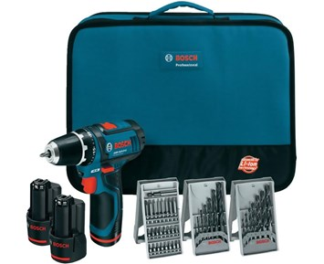 bosch professional gsr 12v 15 2x2 0ah softbag kompakt 12 v drill inkludert 2 stykk batteripakker. Black Bedroom Furniture Sets. Home Design Ideas