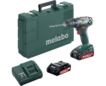 Metabo BS 18 2x2,0 AH SC 60 13 mm