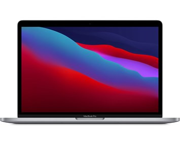 Apple MacBook Pro 256 M1 chip  8‑core CPU and 8‑core GPU - Space Grey