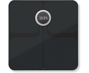 Fitbit Aria 2 Wi-Fi Smart Scale Black