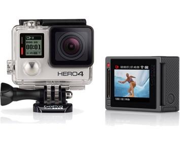 GoPro Hero 4 Sølv Komplett.no