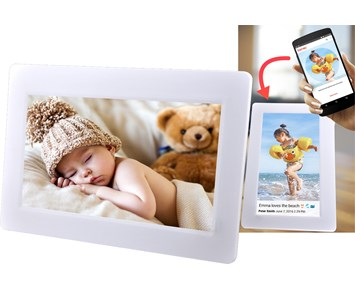 Denver Smart 7 digital photoframe Wh