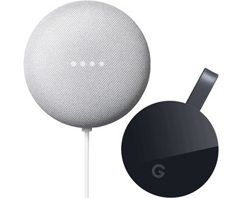 Google Chromecast Ultra + Nest Mini