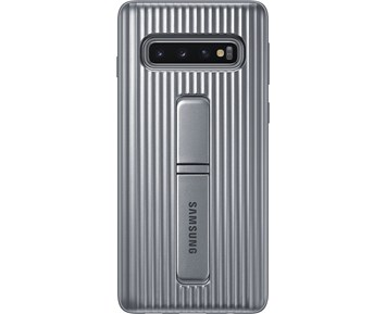 Samsung Protective Standing Cover Galaxy S10+ Silver