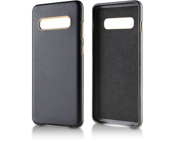 Andersson Genuine Leather Case Black for Samsung S10 Plus