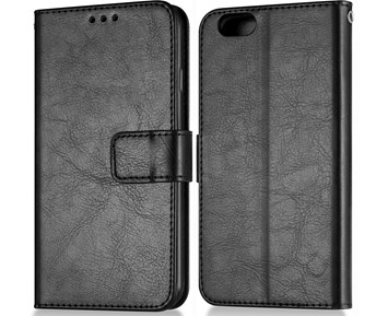 Andersson Premium Wallet Case Black for iPhone 6/6S