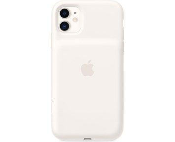 Apple iPhone 11 Smart Battery Case with Wireless Charging - White