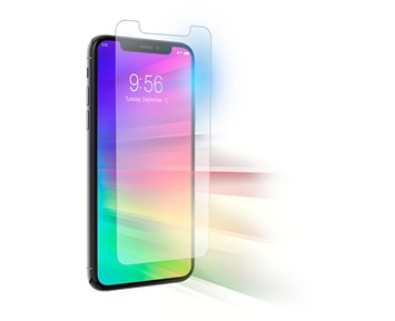 ZAGG Invisible Shield Glass Elite Visionguard Antimicrobial for iPhone XR/11