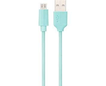 ON Micro-USB Cable Turquoise 0,25M 1A