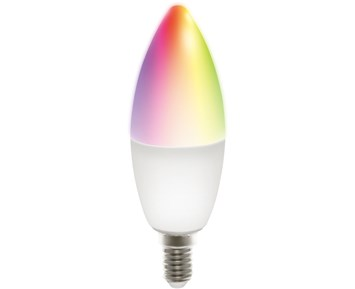 Deltaco Smart E14 RGB C37 Bulb 5W 470lm 1-pack